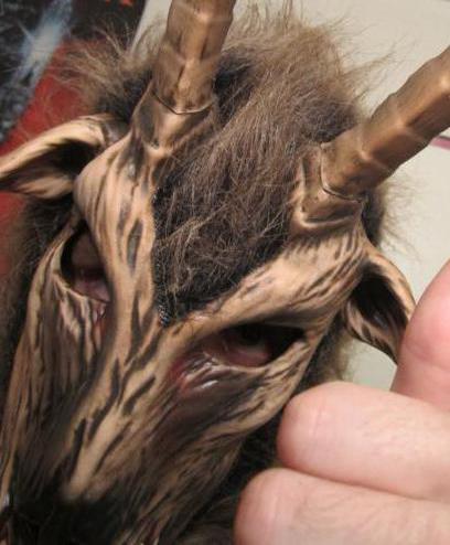 голова козы маска