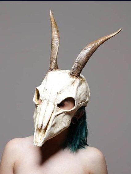 маска козы на голову