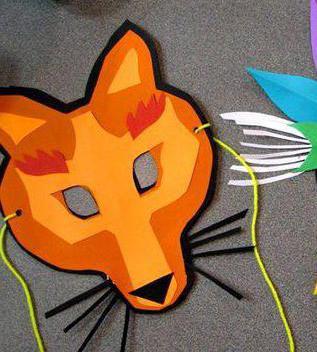 маски лисы