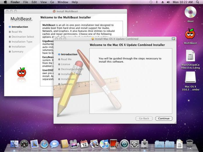 как установить mac os на ноутбук acer