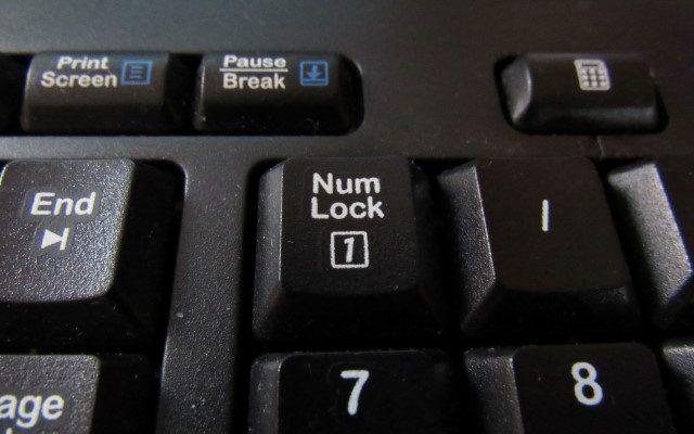 numlock keyboard
