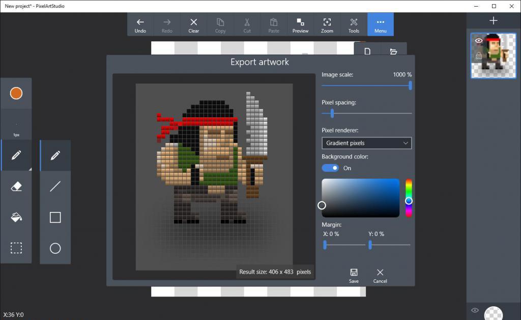 pixel art рисование
