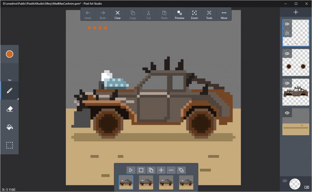 программа для рисования пиксель арта для пк