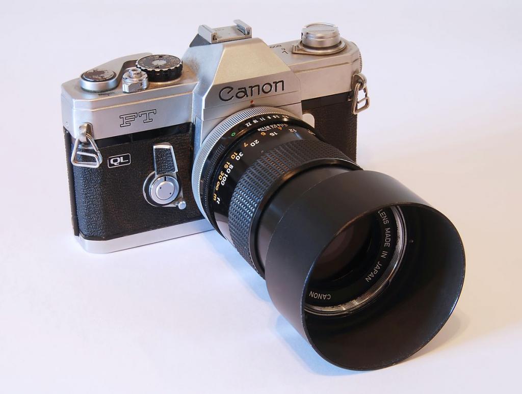 Пленка для пленочного фотоаппарата острова