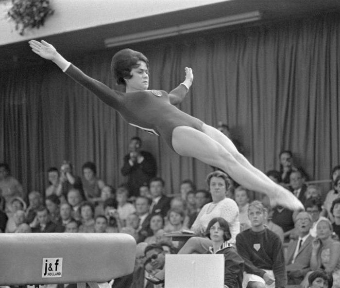 как гимнастки советского союза фото кривизну