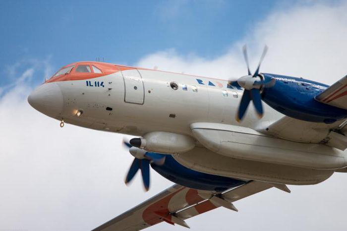 самолет ил 114 300 описание