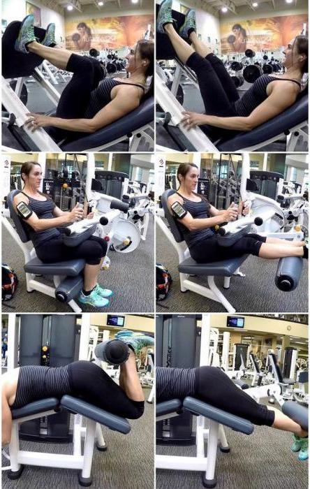 программа тренировки для похудения ног