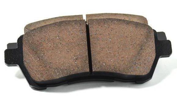 1665422 - Толщина новых задних тормозных колодок