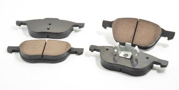 1665425 - Толщина новых задних тормозных колодок