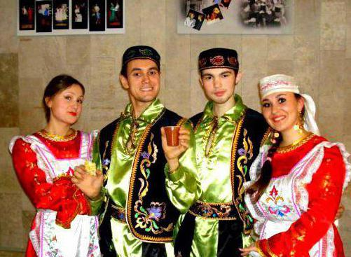 костюмы народов самарской области
