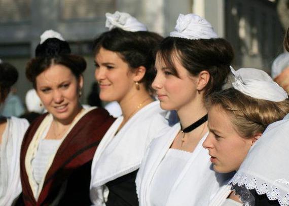 национальный костюм франции название