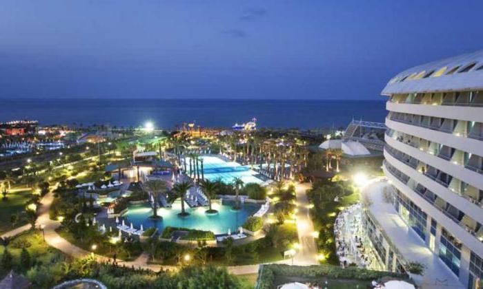 отели турции с аквапарком на первой линии 5 условиях
