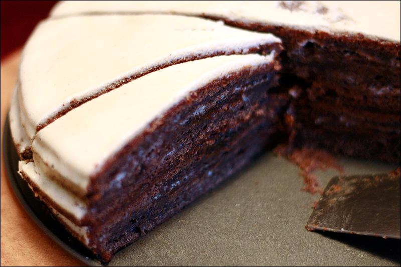 Торт шоколадный пломбир рецепт с фото составляя