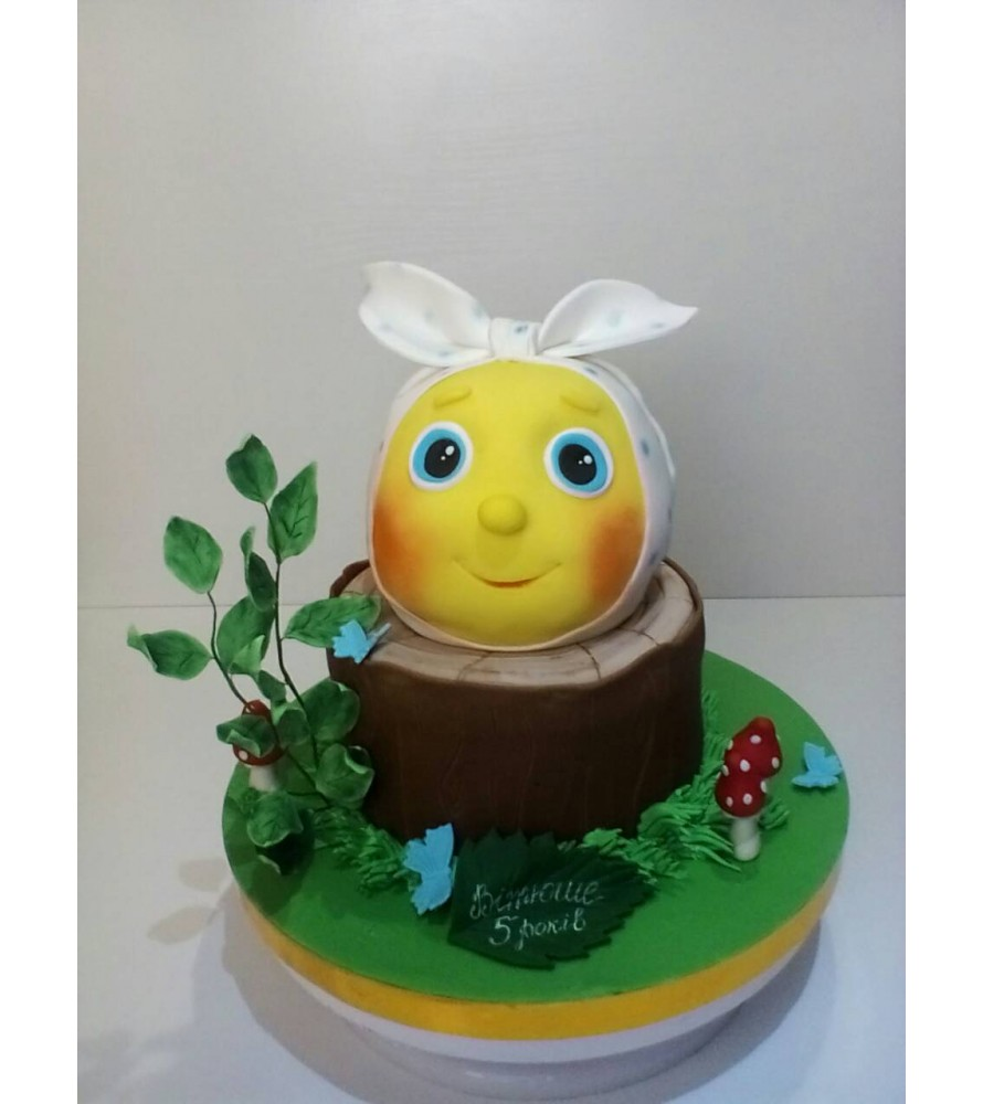 Чудесный торт колобок