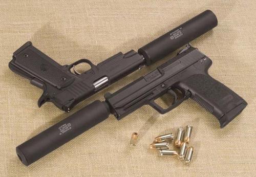 глушители для пистолетов:
