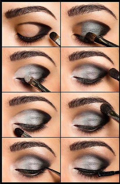 Черные тени для глаз
