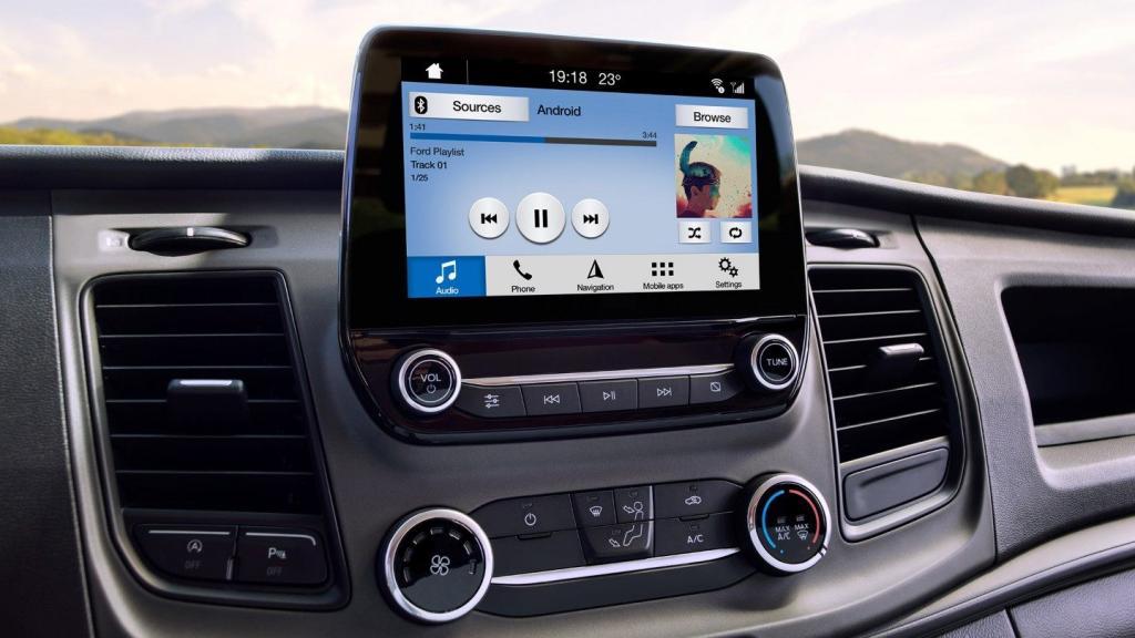 форд транзит система управления