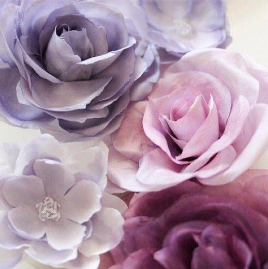 цветы для скрапбукинга своими руками шаблоны