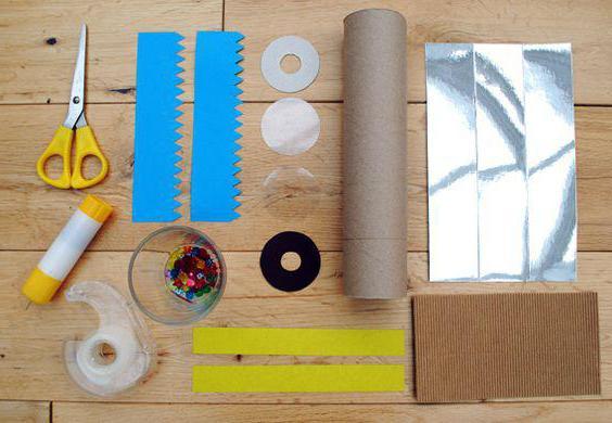 как сделать калейдоскоп в домашних условиях