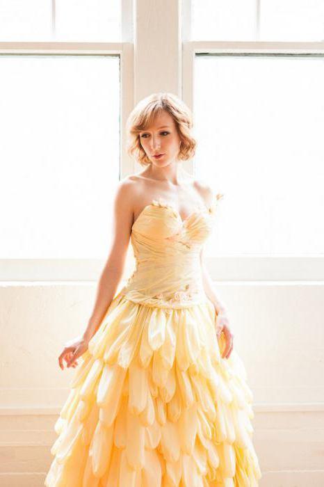 платье из гофрированной бумаги своими руками