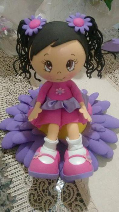 куклы из фоамирана своими руками мастер класс