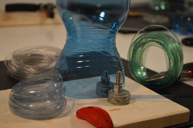 шнур из пластиковой бутылки