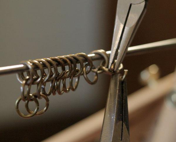 Как сделать кольца для кольчуги