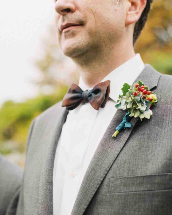 бутоньерки на свадьбу своими руками