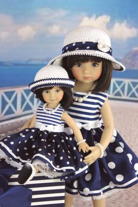Куклы Дианы Эффнер: описание. Куклы ручной работы