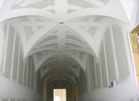 Крестовые своды в архитектуре Средневековья и современности