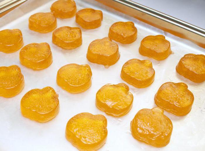 мармелад из тыквы в домашних условиях с желатином