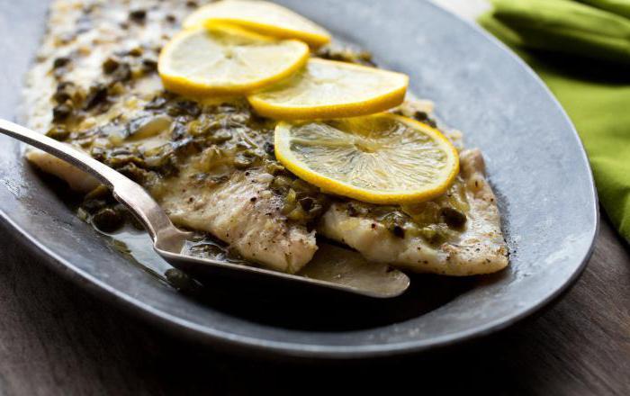 морской язык рецепты в духовке
