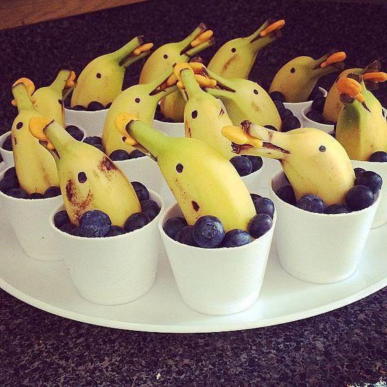 как сделать поделку из банана