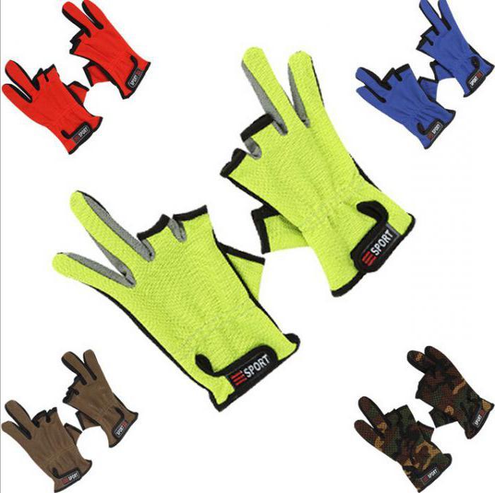 неопреновые перчатки для рыбалки