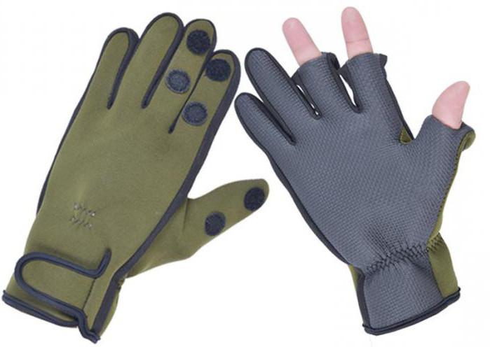 неопреновые перчатки для зимней рыбалки