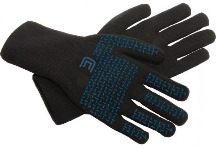 греющие неопреновые перчатки для рыбалки