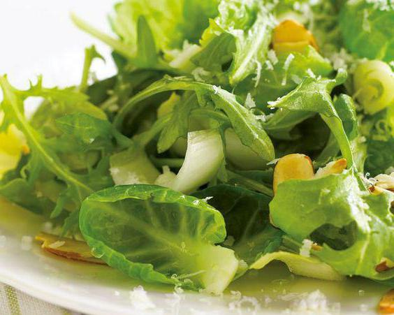 листья салата польза и вред состав