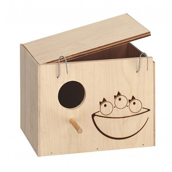 домик для волнистых попугаев своими руками фото