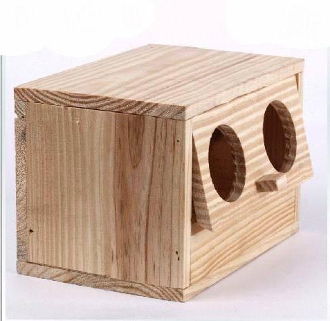 домик для волнистых попугаев своими руками