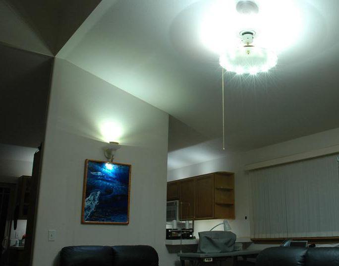 led batteridrevet bordlampe