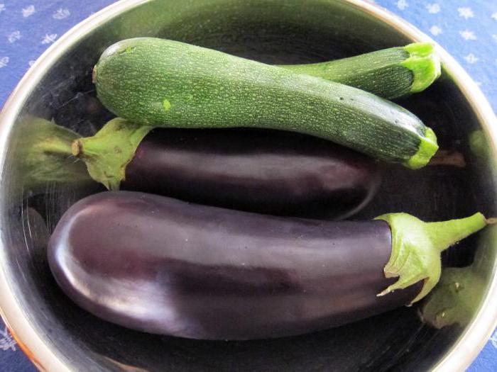 рецепты приготовления на зиму баклажанов и кабачков вместе