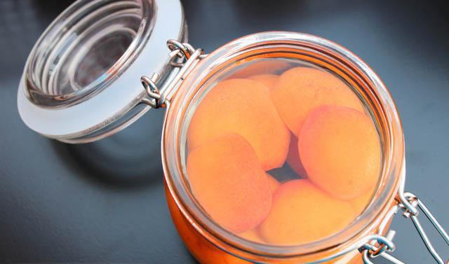 консервация абрикос на зиму