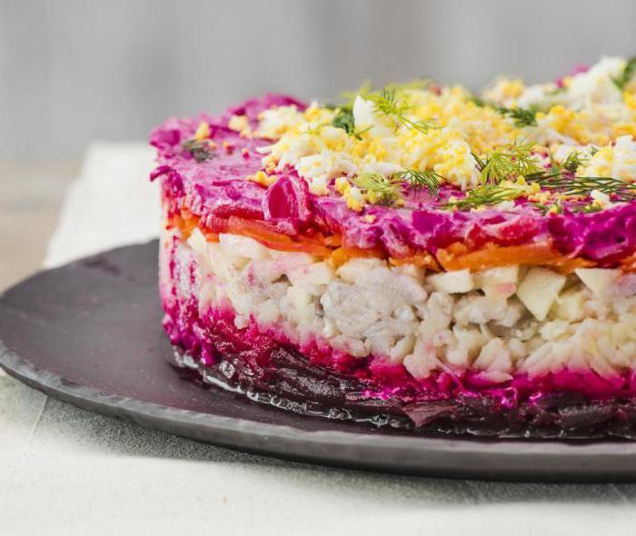 Под шубой салат простой рецепт