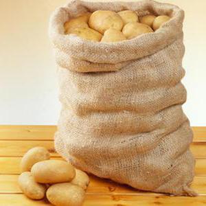 в одном мешке сколько килограмм картошки