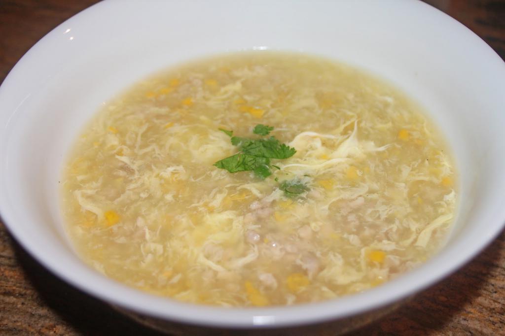 суп с яйцом рецепт