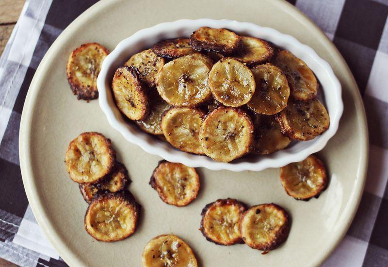 банан в духовке