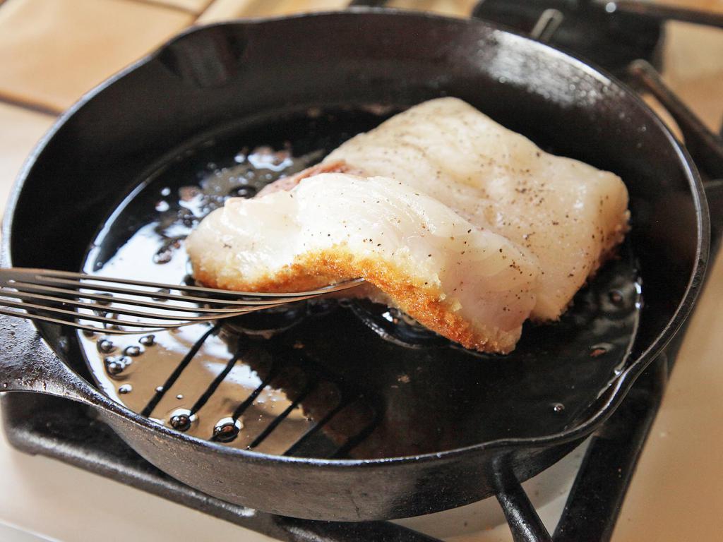 стоит рыба на сковороде гриль рецепты с фото себя как профессионального