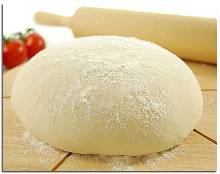 Вкусное тесто для пиццы пирогов