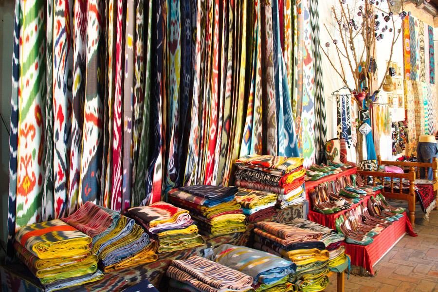 узбекские ткани