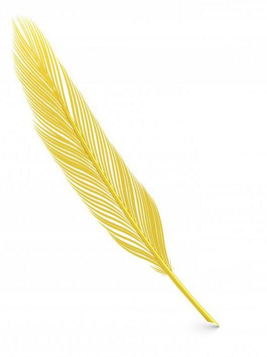 Найти перо птицы (примета) означает добро или зло?